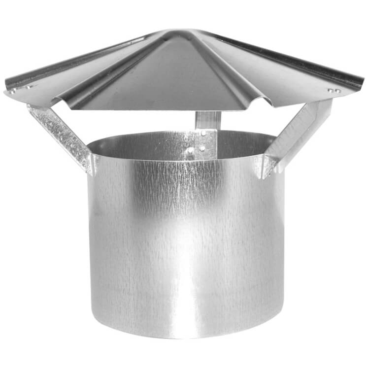 #2433 Galvanized chimney cap 28 g.