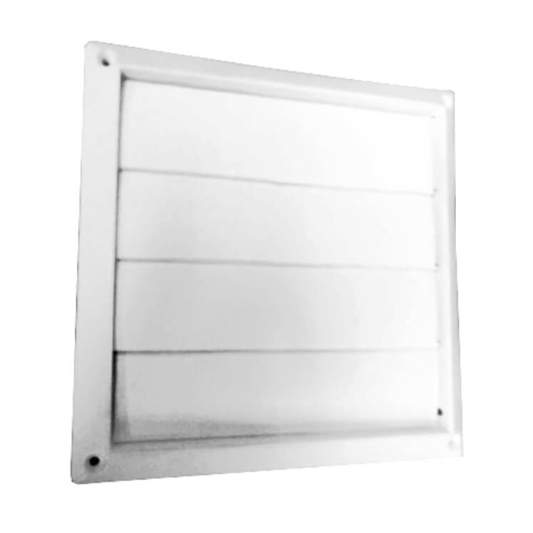 #2574C à/to 2576C Plastic flush hood only with bird screen 1/4
